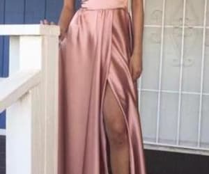 cheap prom dress, high slit prom dress, and off shoulder formal gowns image
