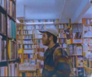 analogue, books, and boy image