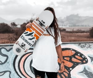 board, element, and girl image