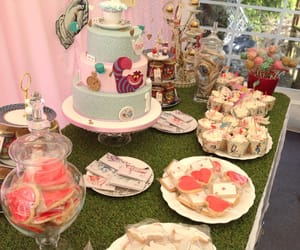 cake, cake pops, and cupcakes image