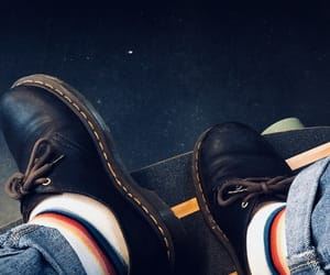 colorful, docs, and dr. martens image