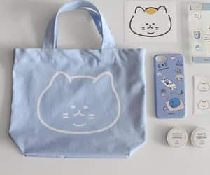 blue, cat, and soft image