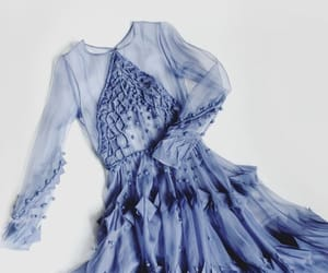 dress, blue, and aesthetic image