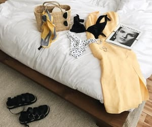 fashion, interior, and bed image