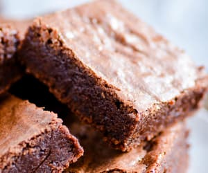 brownies, chocolate, and sweets image