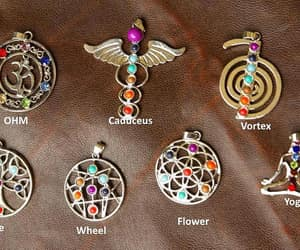 etsy, healing, and necklaces image