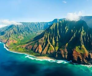 hawaii, napali coast, and kauai image
