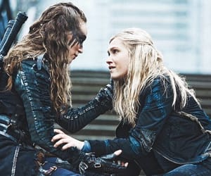 lexa, the 100, and the100 image