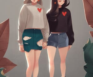 art, cuties, and fashion image