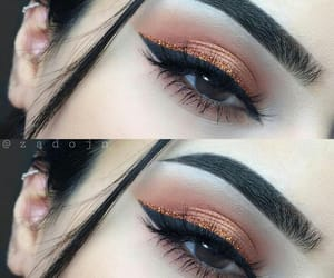 eyebrows, gorgeous, and fashion image