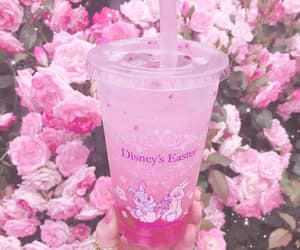food, pink food, and pink aesthetic image