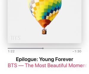 Epilogue, young forever, and park jimin image