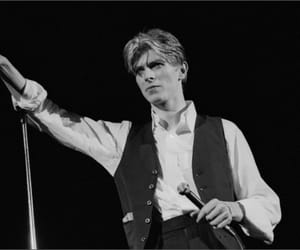80s, bowie, and david image