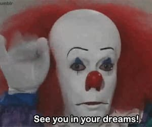 clown, Dream, and it image