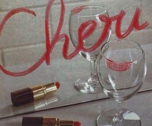 lipstick, Cheri, and grunge image