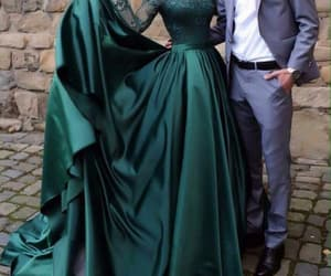 green, love, and dress image