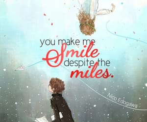 anime, distance, and quotes image