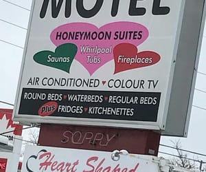 aesthetic, grunge, and motel image