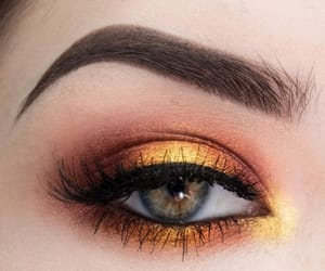 fall and copper eye look image