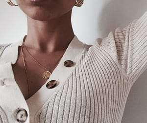 cardigan, earrings, and indie image