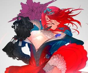 anime girl, fantasy, and manga girl image