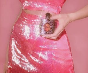 fashion, glitter, and pink image