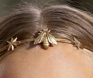 bee, fashion, and hair image