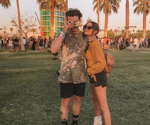 beauty, celebrity, and coachella image