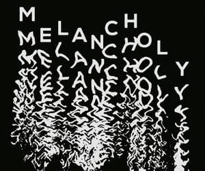 theme, melancholy, and dark image