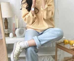 yellow, fashion, and clothes image