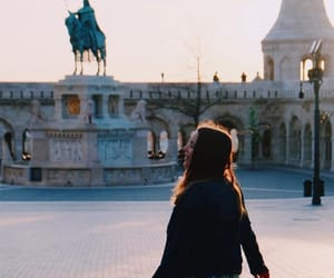 budapest, girl, and love image