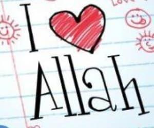 islam, love, and allah image