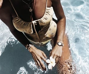 bikini, swimwear, and tumblr image