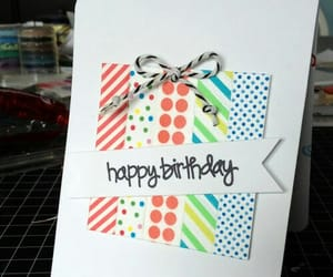 birthday and card image