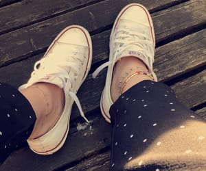 converse, dots, and shoes image