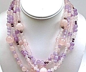 amethyst, etsy, and pink image