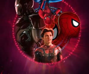 iron man, spiderman, and peterparker image