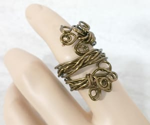 adjustable, adjustable ring, and bohemian jewelry image