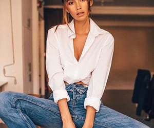 fashion, jeans, and model image