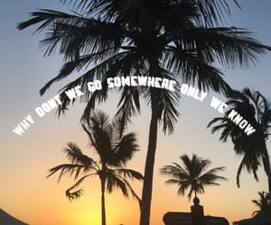 beach, positivity, and quotes image