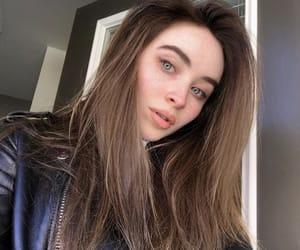 brunette and sabrina carpenter image