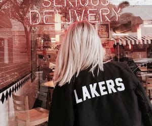 black, cafe, and lakers image