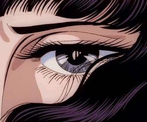 anime, theme, and eye image