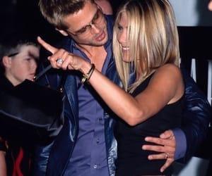 brad pitt, Jennifer Aniston, and couple image