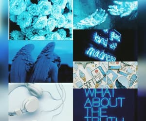 aesthetic, blue, and series image