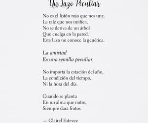 amigos, poema, and cosas bonitas image