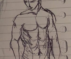 body, draw, and sketch image