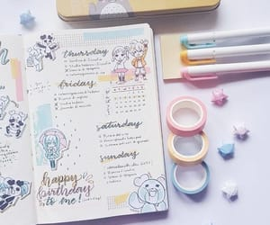 drawings and bullet journal image