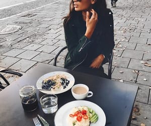 cafe, lunch, and model image