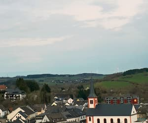 blue, church, and germany image
